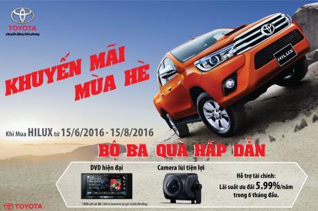 Toyota Việt Nam ưu đãi cho khách hàng mua xe Hilux