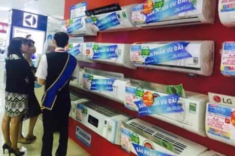 Nắng nóng kéo dài, thị trường máy lạnh tăng đột biến