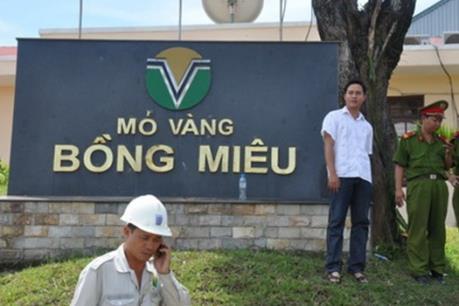 Quảng Nam: Công ty Vàng Bồng Miêu nợ thuế hàng trăm tỷ đồng
