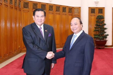Thủ tướng kêu gọi sớm nâng kim ngạch thương mại Việt-Thái lên 20 tỷ USD