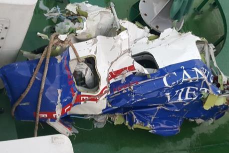 Đã xác định các vật thể tìm thấy là của máy bay CaSa - 212