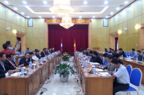 Toạ đàm giữa hai Bộ Kế hoạch và Đầu tư Việt Nam - Lào