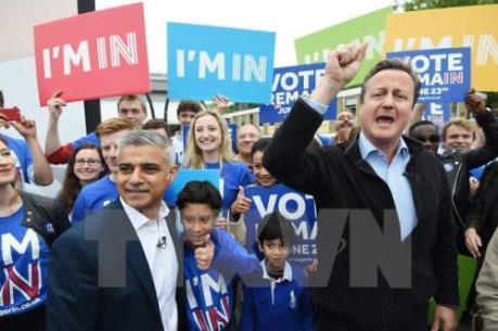 Tỉ lệ ủng hộ EU tại Anh lại vượt lên dẫn trước