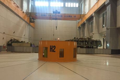 Tổ máy số 2 Thủy điện Lai Châu chính thức phát điện