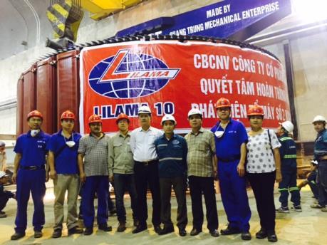 Hệ thống điện Quốc gia bổ sung 260MW công suất từ Thủy điện Huội Quảng