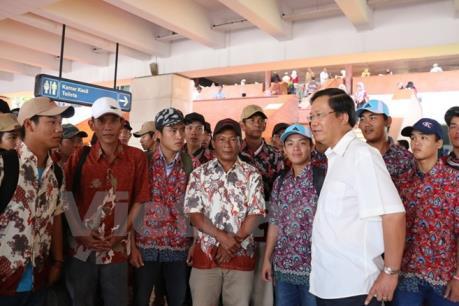 Đại sứ quán Việt Nam tại Malaysia bảo hộ 23 ngư dân Việt Nam bị bắt
