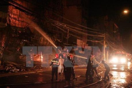 Hỏa hoạn thiêu rụi 2 căn nhà ở thành phố Buôn Ma Thuột