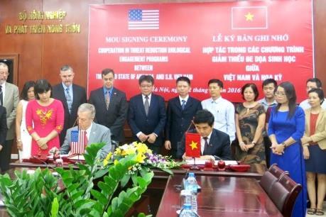 Việt Nam và Hoa kỳ hợp tác giảm thiểu đe dọa sinh học