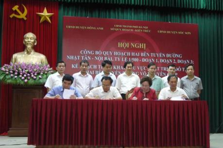 Hà Nội lập quy hoạch tỷ lệ 1/500 hai bên tuyến đường Nhật Tân - Nội Bài