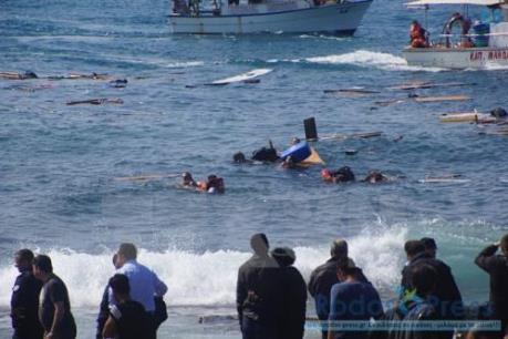 Malaysia: 24 người mất tích trong một vụ chìm tàu