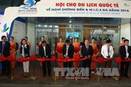 Hơn 170 gian hàng tham gia Hội chợ Du lịch quốc tế Đà Nẵng 2016