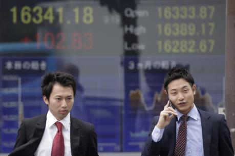 Chứng khoán Nhật Bản chững lại do số liệu kinh tế ảm đạm