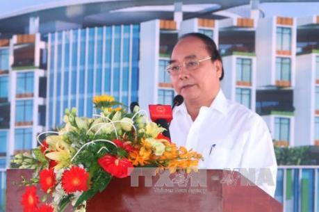 Thủ tướng dự lễ khởi công một số công trình quan trọng tại Tp.Hồ Chí Minh