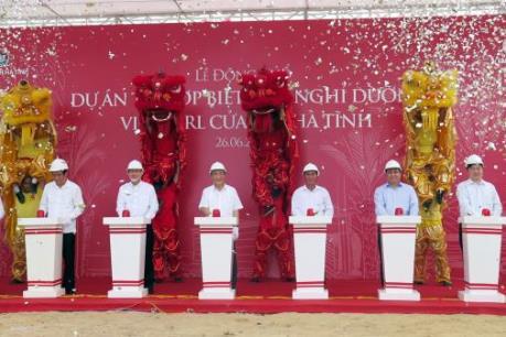 Vingroup xây dựng tổ hợp biệt thự nghỉ dưỡng ở Hà Tĩnh