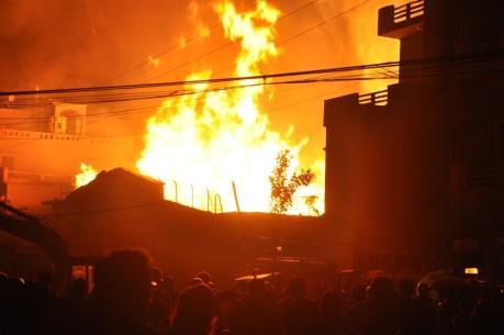 Cháy nhà ở Đồng Nai: 4 người chết, 2 người bị thương