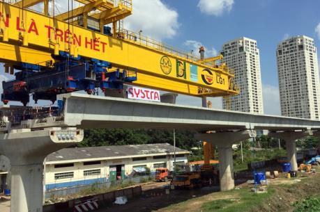 Tp. Hồ Chí Minh sẽ đẩy nhanh tiến độ dự án tuyến metro số 2