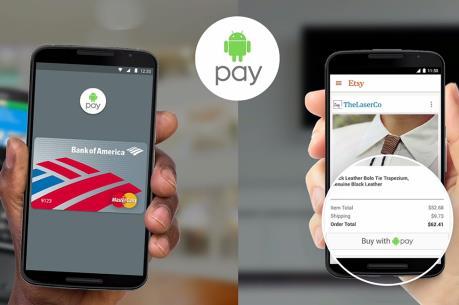 Android Pay đã có mặt tại ba nước trên thế giới