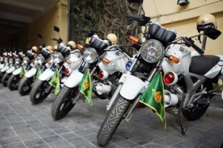 Tp. Hồ Chí Minh: Tiếp nhận 100 xe mô tô đặc chủng phục vụ phòng chống tội phạm