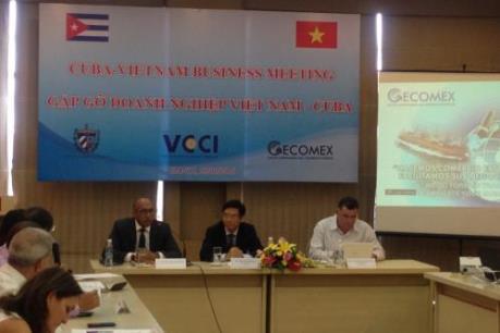 Thúc đẩy hợp tác ngoại thương giữa Việt Nam – Cuba