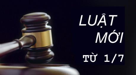 14 Luật có hiệu lực từ 1/7/2016