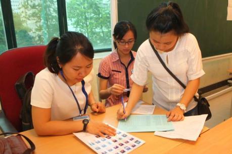 Kỳ thi THPT quốc gia 2016: Trên 76.000 thí sinh Hà Nội làm thủ tục dự thi