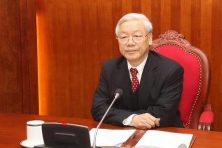 Tổng Bí thư Nguyễn Phú Trọng chỉ đạo về vụ án Ngân hàng TMCP Xây dựng Việt Nam