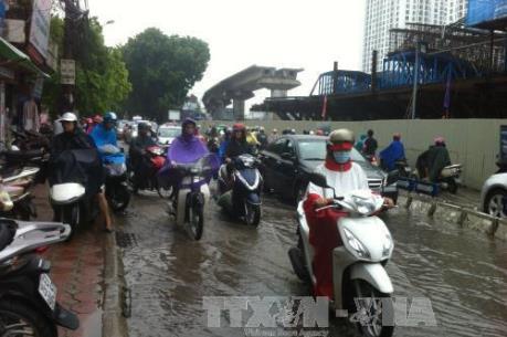 Dự báo thời tiết đêm 2/7: Hà Nội đề phòng ngập úng tại các tuyến phố nội thành