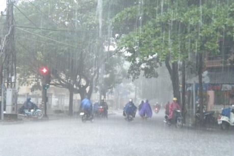 Dự báo thời tiết 4 ngày tới: Mưa lớn có xu hướng gia tăng