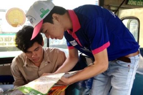 Kỳ thi THPT quốc gia 2016: Mỗi tuyến xe buýt một tình nguyện viên
