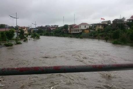 Thái Nguyên: 2 người thiệt mạng vì mưa lũ, nhiều tuyến đường ngập sâu