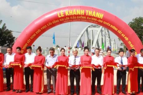Khánh thành Cầu Ghềnh mới bắc qua sông Đồng Nai