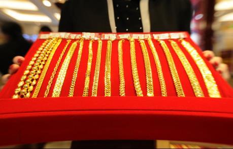 Giá vàng châu Á tăng nhẹ trong phiên đầu tuần