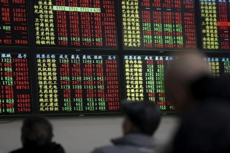 Thị trường chứng khoán Á-Âu ngày 6/7 chìm trong sắc đỏ