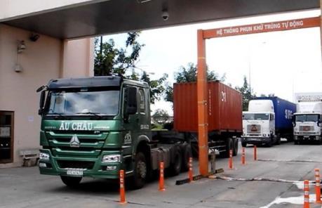 Kể từ 7/7, Tây Ninh thu phí sử dụng kết cấu hạ tầng tại cửa khẩu Chàng Riệc