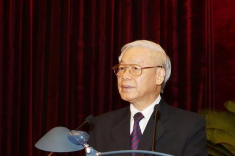 Tổng Bí thư Nguyễn Phú Trọng phát biểu bế mạc Hội nghị BCHTƯ lần thứ ba