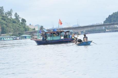 Vụ va chạm sà lan ở Quảng Ninh: Đã tìm thấy nạn nhân mất tích