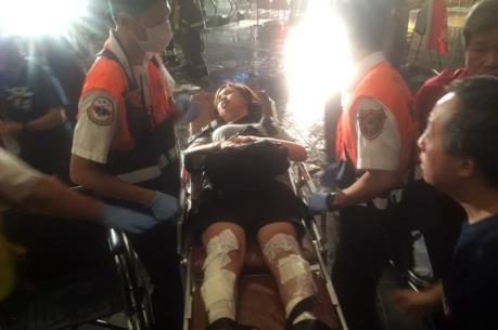 Nổ tàu hỏa ở Đài Loan khiến 25 người bị thương
