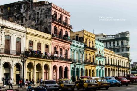 Du khách Mỹ tới Cuba tăng gần gấp đôi