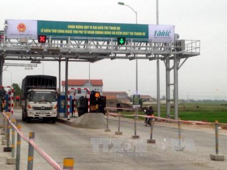 Trạm thu phí đường bộ không dừng đầu tiên đi vào hoạt động thương mại