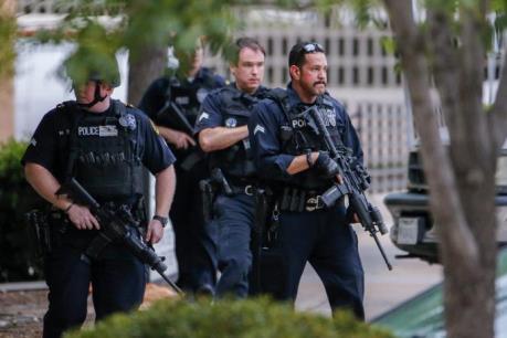 Mỹ: Cảnh sát Dallas tăng cường an ninh sau khi nhận đe dọa mới