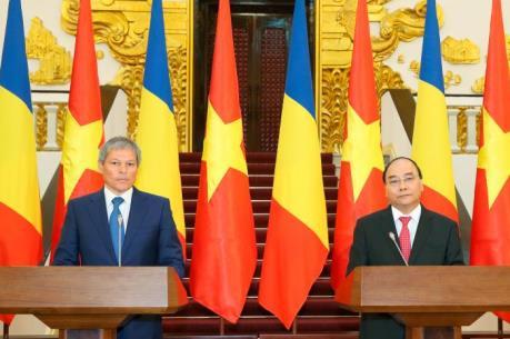 Tuyên bố chung giữa Thủ tướng Nguyễn Xuân Phúc và Thủ tướng Rumani