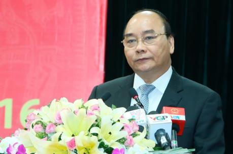 Thủ tướng Nguyễn Xuân Phúc: Ngành Công thương phải phấn đấu đạt tăng trưởng xuất khẩu 10%