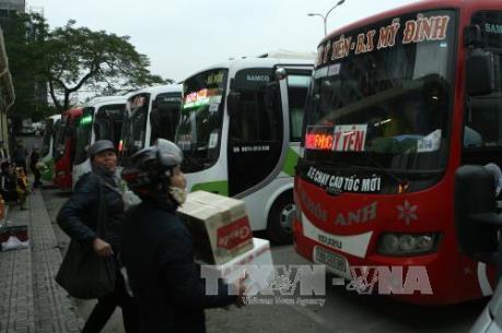 Lịch trình xe khách khi bến xe Lương Yên ngừng hoạt động vào ngày 26/7