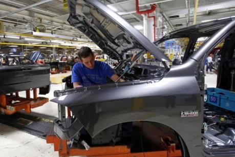Kinh tế Mỹ tiếp tục tăng trưởng khiêm tốn