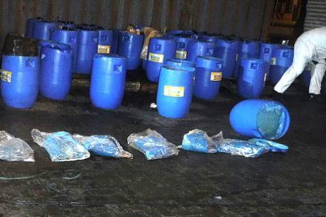 Mexico thu giữ 13 tấn cocaine trộn lẫn trong tương ớt