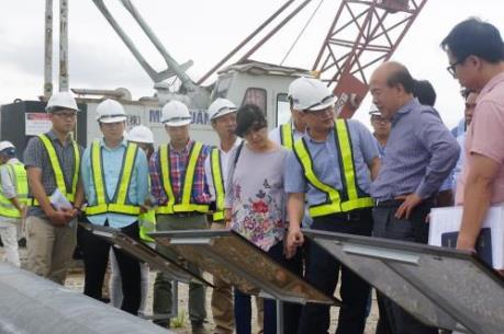 Sẽ thay lãnh đạo Ban quản lý nếu dự án cảng Lạch Huyện chậm tiến độ
