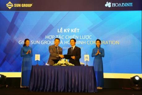 Sun Group và Địa ốc Hòa Bình ký hợp tác chiến lược
