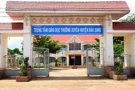 Làm rõ sai phạm tại Trung tâm Giáo dục thường xuyên huyện Đắk Song