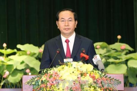Kỳ họp thứ nhất, Quốc hội khóa XIV: Ông Trần Đại Quang trúng cử chức vụ Chủ tịch nước