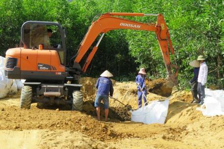Đã di dời toàn bộ chất thải của Formosa tại thị xã Kỳ Anh, Hà Tĩnh